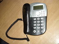 Latex Rubber stunt prop office phone for Shameless series 6