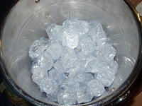Stunt Prop ice cubes for Shameless series 6